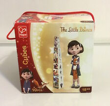 HAPE, THE LITTLE PRINCE, PICTURE BUILDING CUBES OR BLOCKS, SET OF 10 PIECES, NIB
