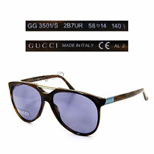 Gucci GG 3501/S 2B7UR Sunglasses - Made in Italy - Authentic New