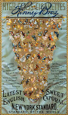 1888 Butterflies of the World Tobacco Advertising Poster 13 x 19 Giclee Print