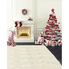 5x7ft Christmas Tree Fireplace Theme Studio Photography Backdrops Background New