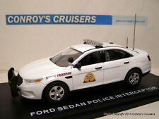 Custom Utah Highway Patrol Ford Police Interceptor Sedan (1/43rd scale diecast)