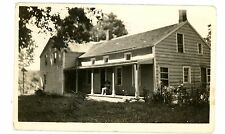 Millbrook NY - EARLY COLONIAL HOUSE - RPPC Postcard