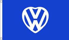 3' x 2' VW Flag Advertise I Love My Car Camper Van Auto Motor Fest Banner