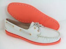 NiB Women's SPERRY TOP SIDER 'Authentic Original' STRIPED BOAT SHOE sz 7.5
