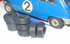 8 Pneus repro silicone JOUEF Renault 5, R5 Austin mini jantes petit rayon