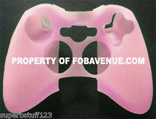 Microsoft XBox One / 360 Pink Silicone Silicon Controller Skin Cover Case NEW
