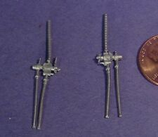 O/On3/On30 WISEMAN MODELS DETAIL PARTS #O221 SMALL STEAM LOCOMOTIVE INJECTORS