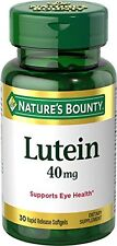 3 Pack - Nature's Bounty Lutein Softgels 40Mg 30 Each