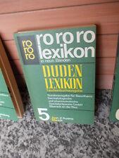 rororo Lexikon in neun Bänden, 5 Band Juan d'Aust - Maniok