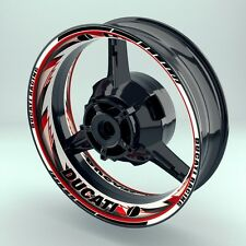 """Felgenaufkleber Felgenrandaufkleber Premium Wheelsticker """"Razor Ducati"""""""