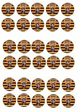 HUDDERSFIELD GIANTS  EDIBLE RICE WAFER PAPER CUP CAKE TOPPER X30