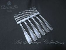 Christofle ATLAS LUC LANEL 6 Fourchettes de Table, Dinner Forks 20.5cm