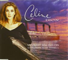 Maxi CD-CELINE DION-My heart will go on-titanic - #a1855