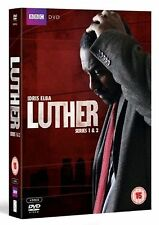 LUTHER Complete BBC TV Series DVD Collection Boxset Season 1 2 + Extras New