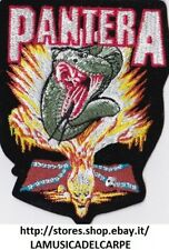 TOPPA TERMOADESIVA PANTERA ROCK METAL NUOVA PATCH NEW!