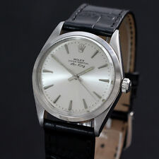 Rolex Vintage Oyster Perpetual Air King 5500 Stainless Steel Silver Dial 1966