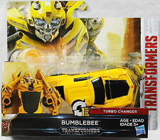 Transformers: The Last Knight 1-Step Turbo Changer - Bumblebee