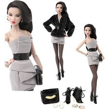 "NRFB NuFace Power House Ayumi N. 12"" Dressed Doll by Integrity Fashion Royalty"