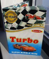 Turbo 1-50 Album catalog, Kent Turkey bubble gum wrappers