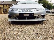 Honda Civic Mugen FN, FN2, FK Front Lip/Splitter 2006-2011 - Fits Type R/S New!