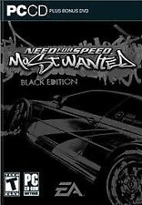Need for Speed: Most Wanted -- Black Edition (PC, 2005) New - Sealed