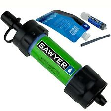 Sawyer Products SP101 Mini Water Filter Green w/Reusable Squeeze Pouch