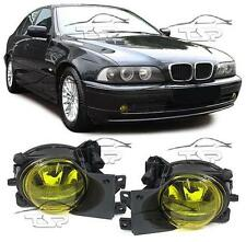 YELLOW FOG LIGHTS FOR BMW E39 00-04 SERIES 5 NEW FANALE FENDINEBBIA H8