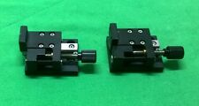 2Pcs 1-Axis Precision Stage Linear Micropositioner,Pitch 0.25mm (#1564)