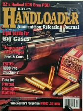 Rifle's Handloader Feb 2016 Light Loads For Big Cases Cartridge FREE SHIPPING sb
