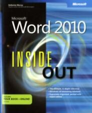 Microsoft Word 2010 Inside Out-ExLibrary