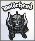 MOTORHEAD WARPIG BACK JACKET EX LARGE Iron Sew On Patch Biker Heavy Metal Rock