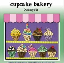Quilled Creations Paper Quilling Kit CUPCAKE BAKERY Food, Dessert, Party ~ 424