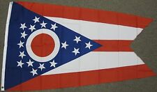 3X5 OHIO STATE FLAG STATES OH FLAGS NEW USA US F265