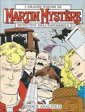 [M15] MARTIN MYSTERE INDICE ANALITICO 1982-1992