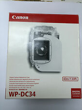 Canon WP-DC34 Waterproof Case underwater 40m for PowerShot G11 G12