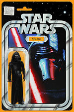 STAR WARS FORCE AWAKENS #5 JTC KYLO REN Action Figure Variant Marvel New NM