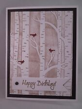 "Handmade Card~""Happy Birthday!""~Masculine~Woodland~SU~Addl Cards Ship FREE"