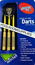 Licensed AFL Aussie Rules RICHMOND TIGERS Darts Set includes 6 Flights