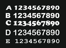 3x Numero di partenza, Richiesta Adesivo Moto, Auto, Motocross, MX, Enduro