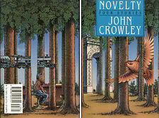 Novelty: Four Stories by John Crowley-1989-First Edition/DJ