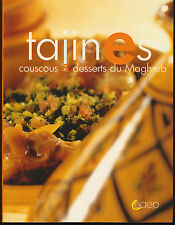 French Soft Cover Cooking Book Tajines Couscous & Desserts du Maghreb