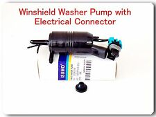 Windshield Washer Pump W / Electrical Connerctor Fits:Most GM Vehicles