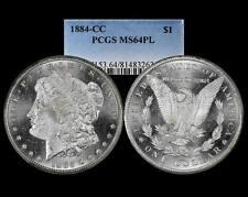 1884 CC Morgan Dollar PCGS MS 64 PL Proof Like Carson City