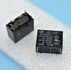 4pcs HONGFA Power relay SPDT,5A 250VAC load 24VDC coil JZC-33F-024-ZS(551)