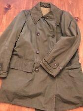 1949 Sz 36 Mackinaw Olive Pea Coat Jeep Jacket Great Wool Lining Post WWII