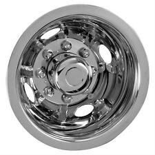 "89 ford f350 16"" 8 lug motorhome hubcaps rv simulators dually truck stainless"