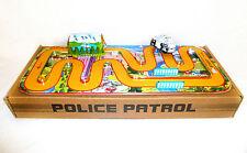 CIRCUIT MECANIQUE POLICE PATROL jouet en tole old toys tin toys jouet ancien