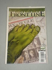 INCREDIBLE HULK WORLD WAR FRONTLINE #1 VOL 1 MRV AUGUST 2007