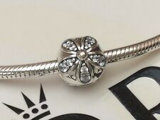 GENUINE PANDORA STERLING SILVER DAZZLING DAISIES CLIP 791493CZ  RRP £45.00