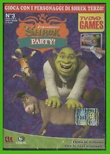 shrek party dvd game in ITALIANO dreamworks GIOCO EDUCATIVO per tv